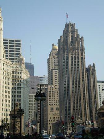 Comfort Suites Michigan Avenue / Loop : view from window