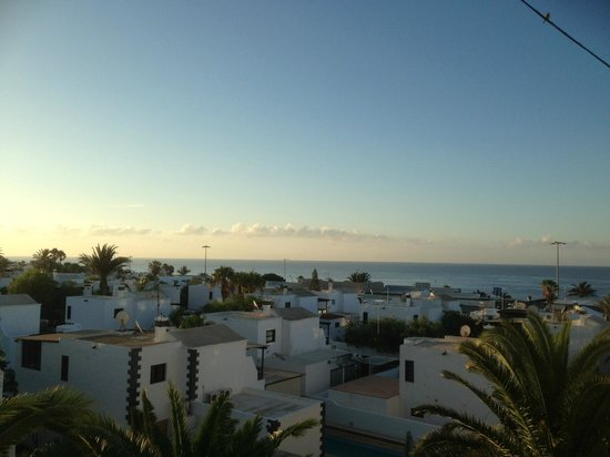 Ereza Apartamentos Los Hibiscos: Great view of the sea