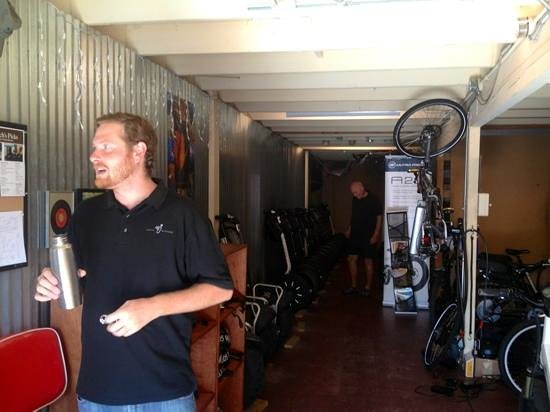 Segway of Santa Barbara: Zach inside of Segway