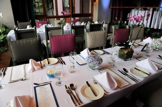 Hotel Alta Las Palomas: Reception in hotel's restaurant