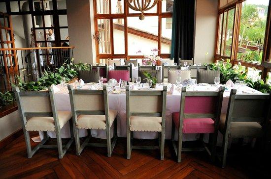 Hotel Alta Las Palomas: Restaurant