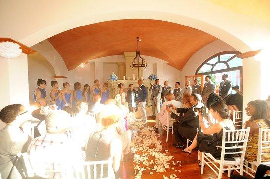 Hotel Alta Las Palomas: Ceremony site