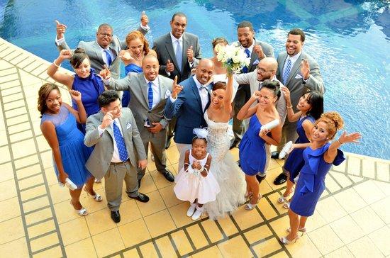 Hotel Alta Las Palomas : Wedding photos at the pool