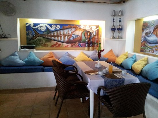 Boracay Beach Resort: ресторан