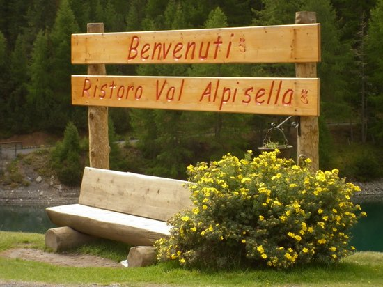 Ristoro Val Alpisella: arrivo