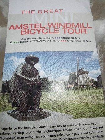 MacBike: The Great Mini Amstel-Windmill Bicycle Tour
