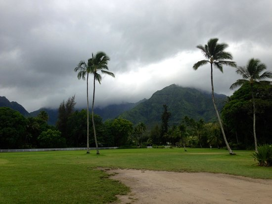 River Estate: United Methodist church in Hanalei
