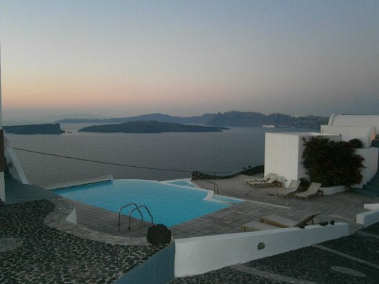 Apanemo: Panorama dall' hotel