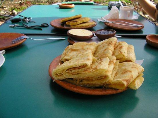 Auberge Dardara: el desayuno