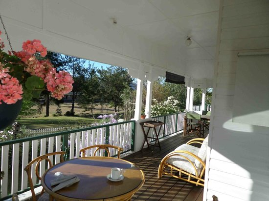A Room with a View Bed & Breakfast, Gloucester NSW: Kandy Suite Veranda