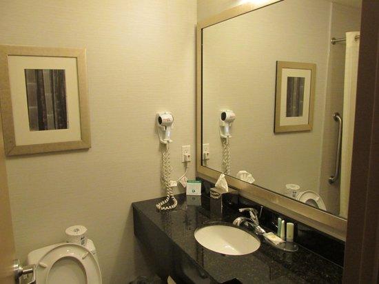 Comfort Inn Midtown West : Room 705 bathroom