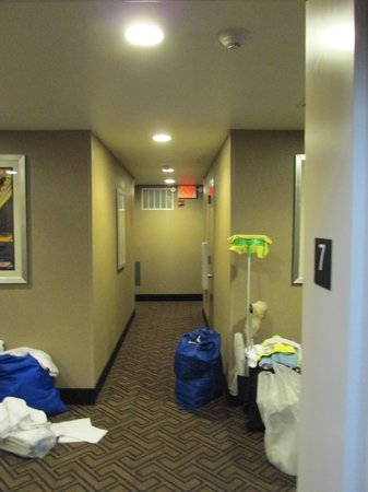 Comfort Inn Midtown West: Corridor on 7th floor.