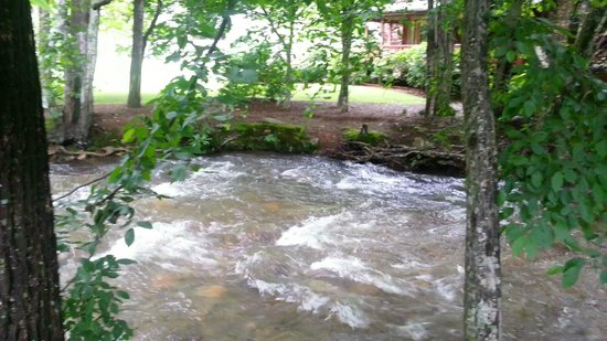 Jonathan Creek Inn and Villas : A view of the creek.