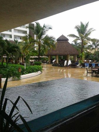 Marival Residences Luxury Resort: Maravillosa vista, a quien se le antoja venir a conocer.