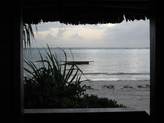Matemwe Bandas Boutique Hotel, Zanzibar: Good morning! The view from the banda at dawn.
