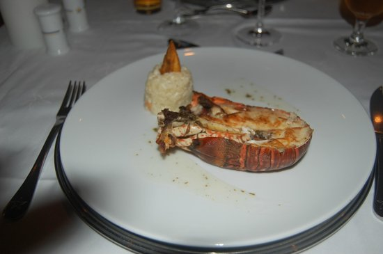 Iberostar Dominicana Hotel: grilled lobster meal at la sibila