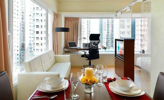 The Johnston Suites Hong Kong: One Bedroom Premier