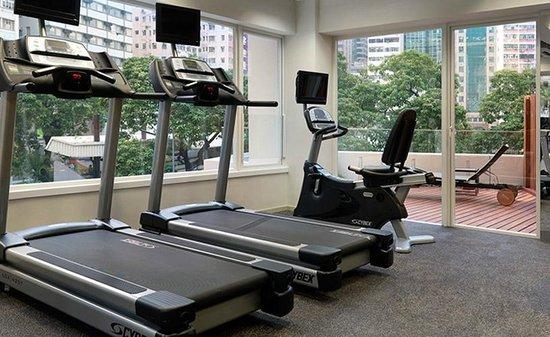 The Johnston Suites Hong Kong: 24-hour gymnasium