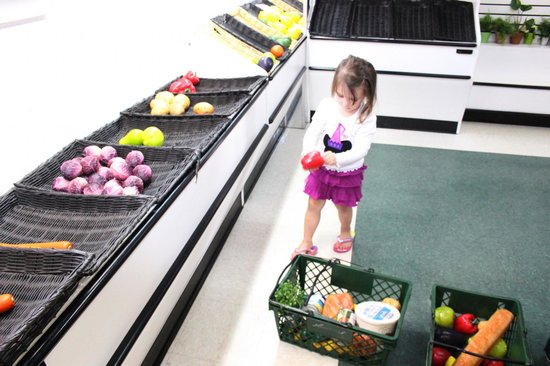 The Magic House : Do your grocery shopping.