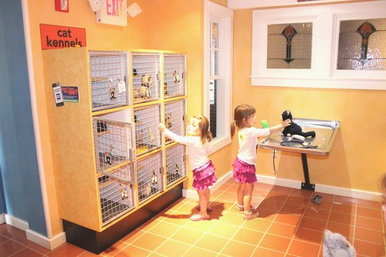 The Magic House : Choose your pet and care for it in the clinic.