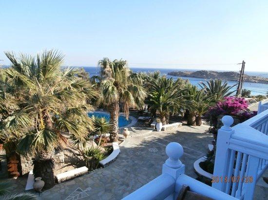 Zephyros Hotel : Corner Room View