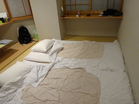 Family Inn Saiko : Double room with 2 mats
