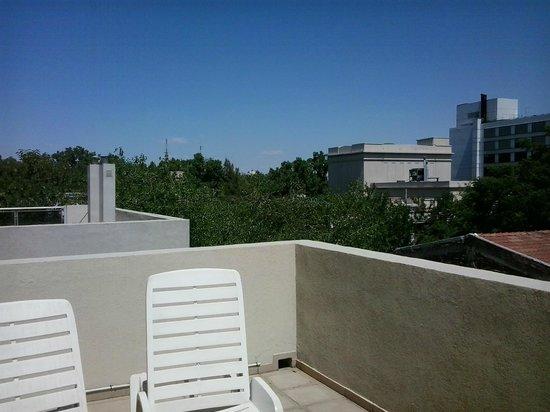 Exclusive Apart Hotel Mendoza: sacada