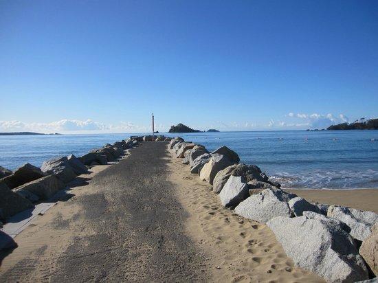 Coachhouse Marina Resort: Breakwall at Batemans Bay