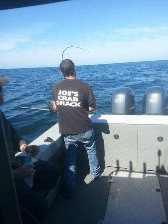 Salty Dog Fishing Charters: The master. hehe