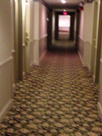 The Aurora Inn Hotel & Event Center : Hallway