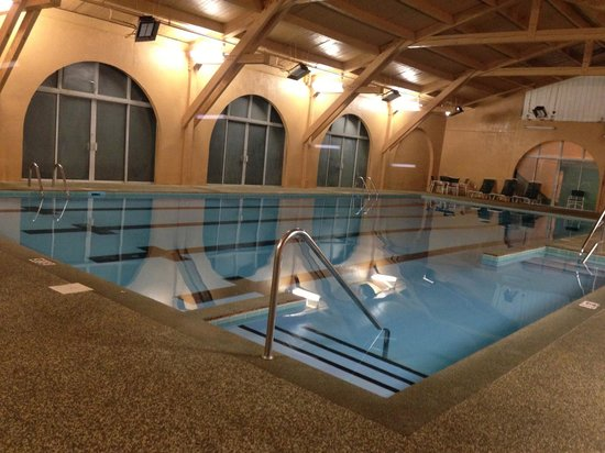 The Aurora Inn Hotel & Event Center: This pool is very nice, and after 9pm is adult only.