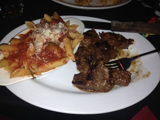 East Side Bar & Grill: Melt in your mouth beef tips