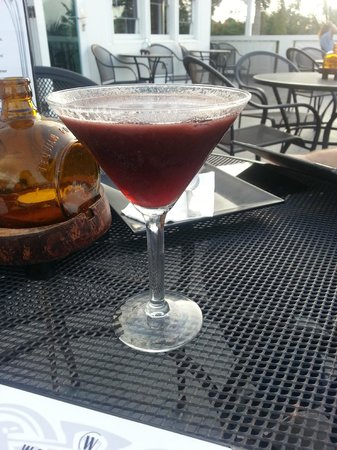 Ode to the Elephants: Blueberry Lychee Martini