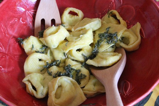 Taste of Italy: Tortellini with butter sauce