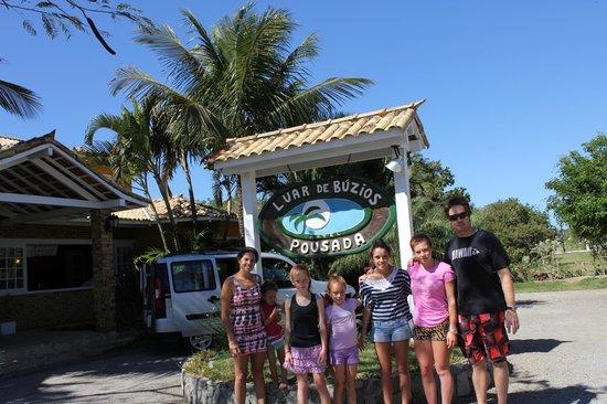 Hotel Pousada Luar de Buzios: La entrada