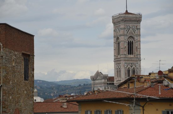 Gallery Hotel Art : Yes, you can also see the Giotto Tower!!!