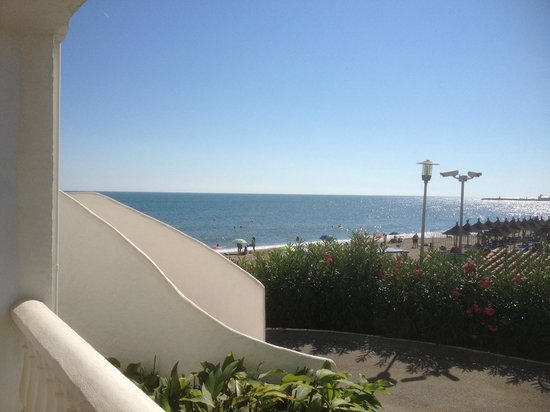 Macdonald Leila Playa Club: view from the patio of B31