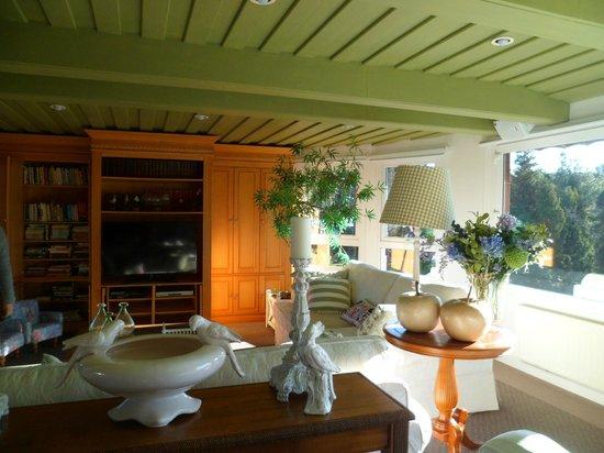 Hotel Estalagem St Hubertus : sala de estar