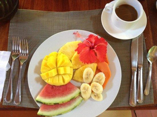 Hotel Shawandha Lodge: Breakfast first course