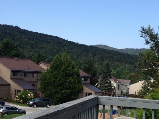 Smugglers' Notch Resort : View from our place