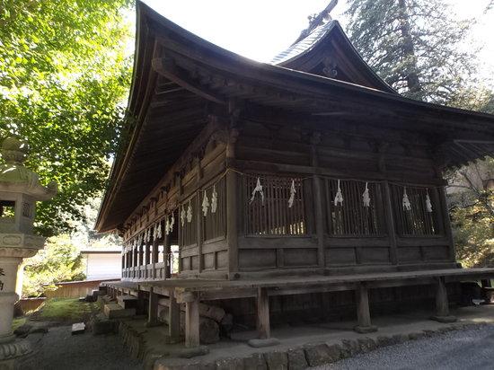Suwa Shrine: 十間廊