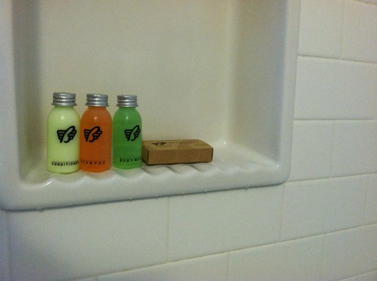 The Burrard: Labeling and placement in the bathroom