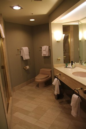 Hilton Los Angeles/Universal City : salle de bain
