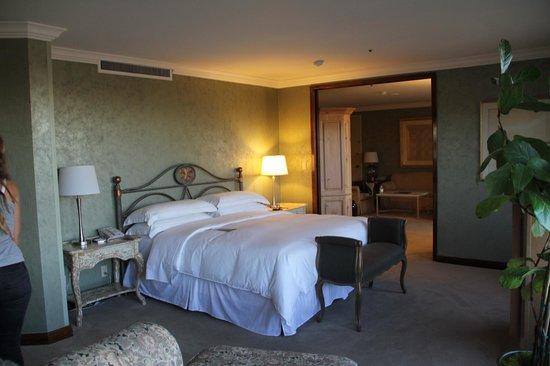 Hilton Los Angeles/Universal City : chambre dans ma suite