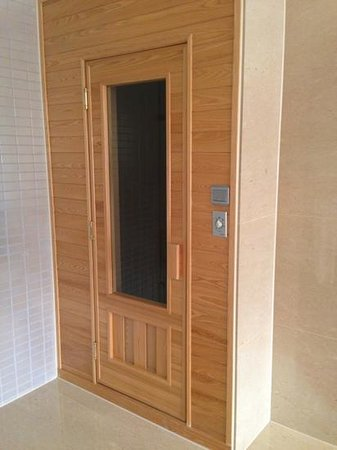 THE Tango Taichung: sauna