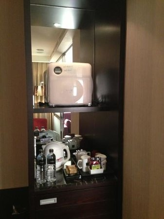 THE Tango Taichung : mini bar with microwave