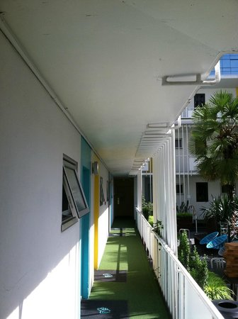The Burrard: Hallway