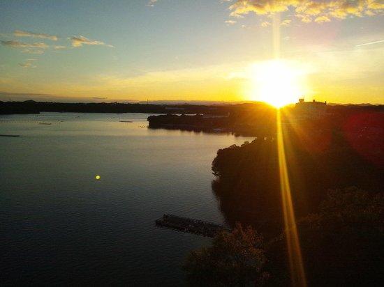 Hojoen: 沈む夕日