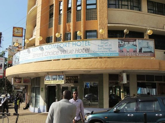 Kenya Comfort Hotel: The Hotel