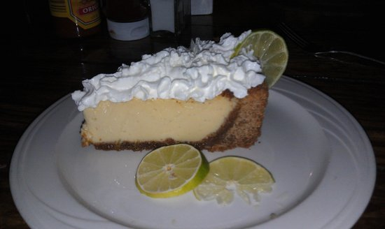 Rosie's Cafe: yummy key lime pie!